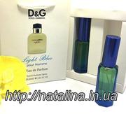 Dolce&Gabbana Light Blue pour Homme Мужской набор в подарочной упаковк
